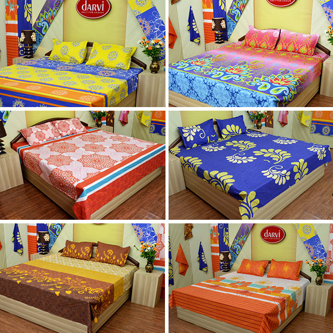 Darvi Luxury Cool Cotton Bedsheets