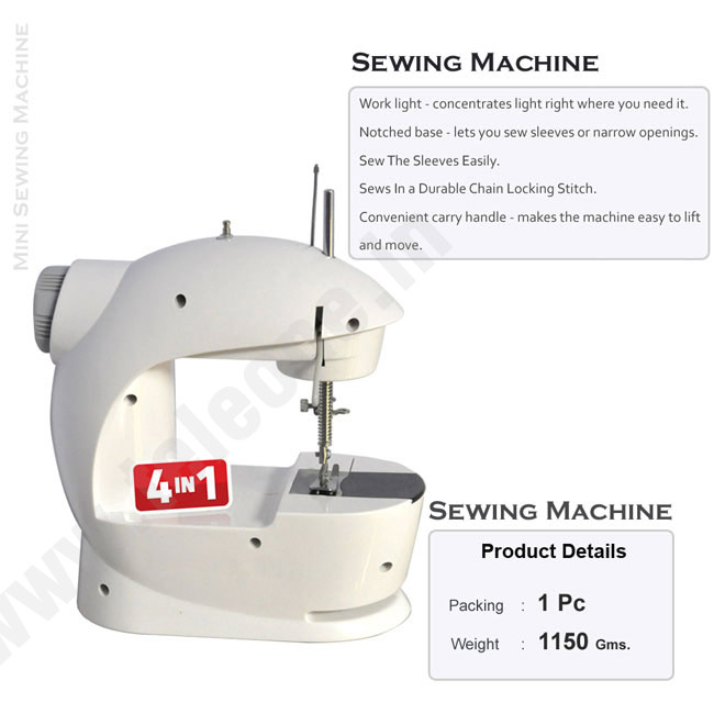 Buy 40in40 Mini Portable Sewing Machine Online From Teleshop Custom Sewing Machine Online Shopping India